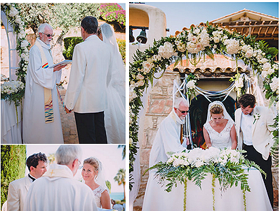 Pissouri wedding Tom & Lucie collage