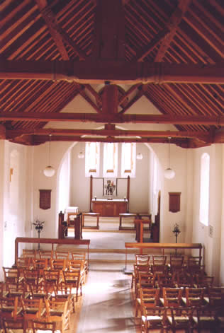 St George's in the Forest, Troodos - inside