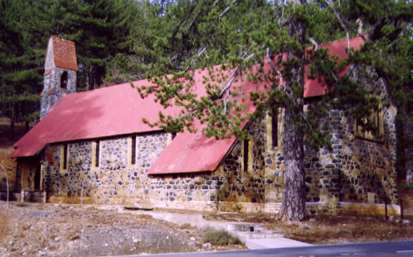 St George's in the Forest, Troodos